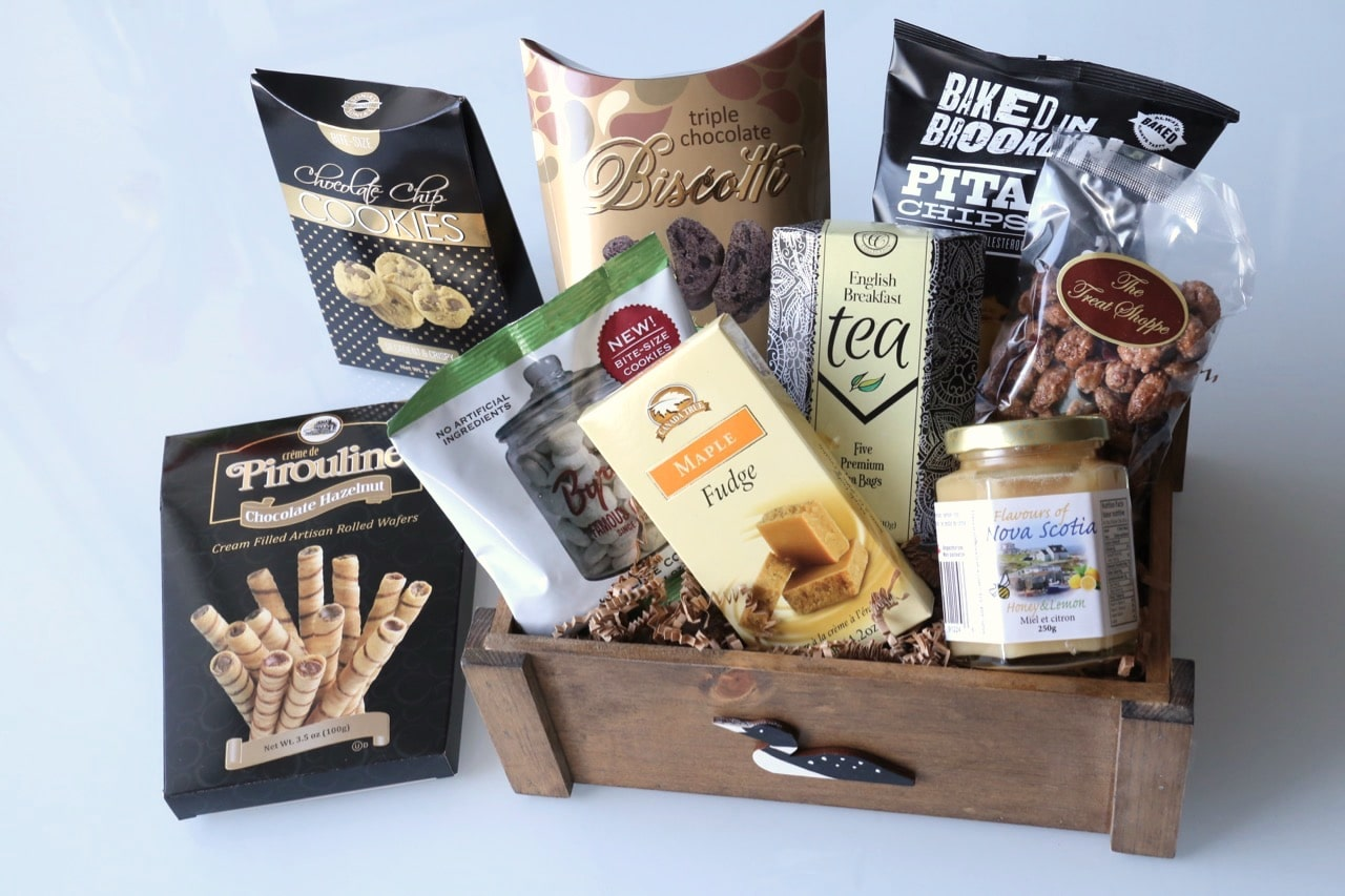 Dobbernation Loves picks the Best Canadian Gift Baskets