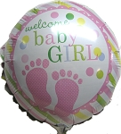 ADD Baby Girl Balloon