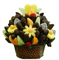 Fruit CHOCOLATE Delight Large (7-10 People)