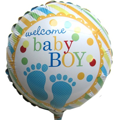 ADD-ON Baby Boy Balloon